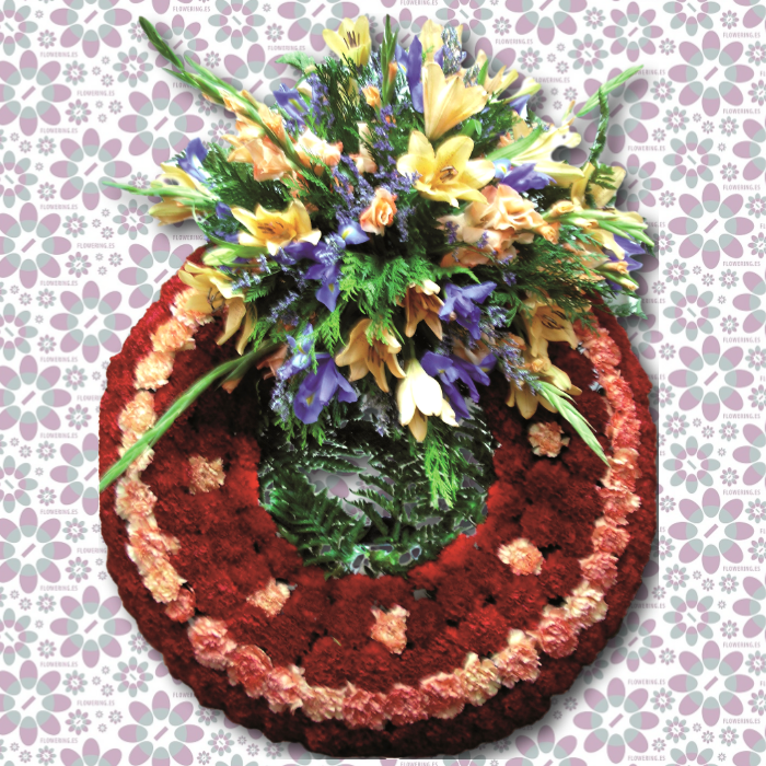 Corona de flores ANUBIS