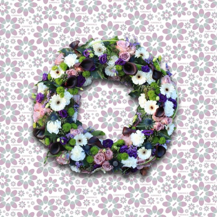 Corona de flores OSIRIS