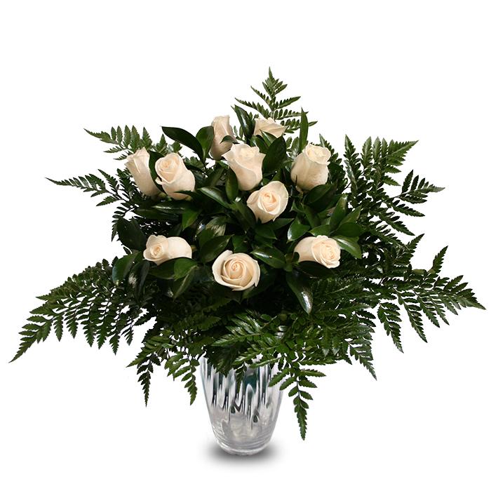 Arreglo Rosas Blancas